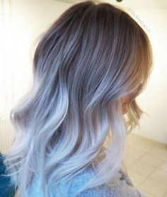 This almost platinum look is a sure winner! #ashblonde #hairstyle #blondehair #haircolor