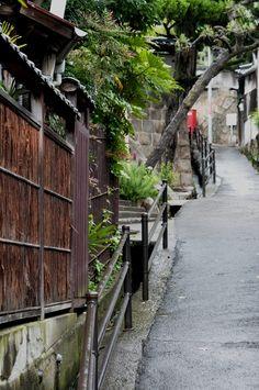 "Slope of Onomichi. Looking for more information about Hiroshima? Go Visit ""Onomichiya""  (Onomichi City Tourist Association). http://www.ononavi.jp/onomichiya/"