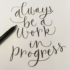 I like this quote so quick #lettering #quote with my new #brushpen! Our new home is looking lovely but it will also be a work in progress for a bit! #inspirational #inspirewords #inspire #handlettering #handdrawntype #nikkiwhistoninks #calligraphy #moderncalligraphy #selfbelief