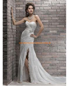 Sexy Brautkleid 2013 aus Orgazna im Meerjungfrauenstil online kaufen