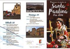 Fiestas patronales de santa Paulina 2016