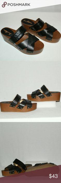 Sam Edelman Bane Black Sandals Sam Edelman Bane Black Leather Sandals. Never worn, excellent condition, leather straps, clean upper and soles. 2.5 inches heel/platform Sam Edelman Shoes Sandals