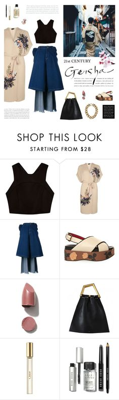 """21st Century Geisha"" by mirela-k ❤ liked on Polyvore featuring River Island, Dorothy Perkins, Ashish, Marni, NARS Cosmetics, CÉLINE, Chloé and Bobbi Brown Cosmetics"