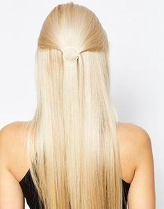 Orelia Open Circle Hair Clip
