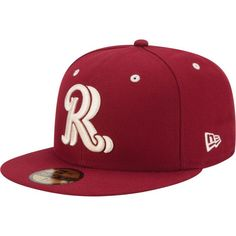 Frisco RoughRiders New Era Authentic Collection On Field Fitted Hat - Crimson Studio Background Images, Black Background Images, Rr Logo, King Hat, Rough Riders, New Era Cap, Hats Online, Fitted Caps, Cool Hats