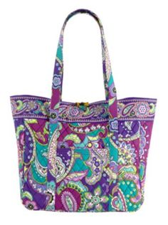 Large Laptop Tote | Vera Bradley- to fuel my obsession and a matching laptop skin would be great too! :)