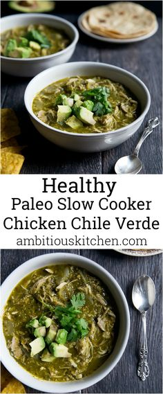 slow cooker chicken chile verde incredible comforting slow cooker ...