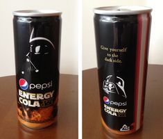 Darth Vader Energy Cola: Give Yourself to the Dark Side