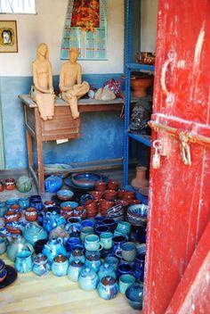 Andretta Pottery Centre in Himachal Pradesh, India