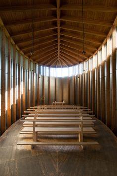 Capela Saint Benedict / Peter Zumthor © Felipe Camus