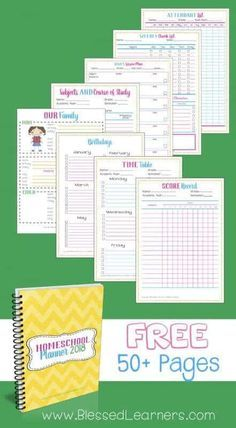 Free Homeschool Planner 2018 I Would Like To Give Away Our Free Homeschool Planner 2018 Visit These Posts To Read How To Use The Homeschooling Planner Get Your Family And Homeschooling Efforts Organized For A Less Chaotic Life Planner 2018, School Planner, Teacher Planner, Happy Planner, Free Planner, Printable Planner, Planner Stickers, Free Printables, Homeschool High School