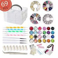 DIY Nail Art Tools Decoration Manicure Kit, Glitter Nail, Rhinestones & More for sale online Teenage Girl Gifts Christmas, Best Christmas Gifts, Christmas Fun, Holiday Gifts, Christmas Desserts, Nail Art Tools, Nail Art Diy, Diy Nails, Glitter Nails