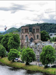 https://flic.kr/p/4k8wcL | St. Andrew's Cathederal, Inverness, Scotland | As seen from Inverness Castle