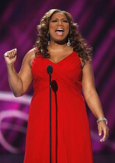 Queen Latifah: Plus-Size Style Icon: Queen Latifah at the People's Choice Awards