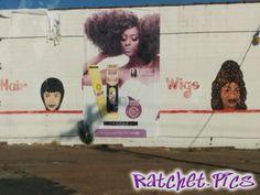 ratchet art work at the weave shop - Ratchet