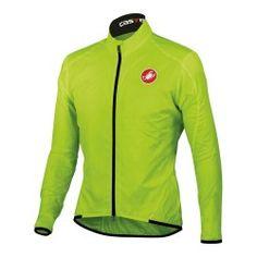 La #chaqueta cortavientos ultraligera de #Castelli que entra en cualquier bolsillo de espalda. Hecha de tejido Forcefield transpirable, impermeable al viento y repelente al agua en el lado del viento en contra en #deporvillage por 59.95€