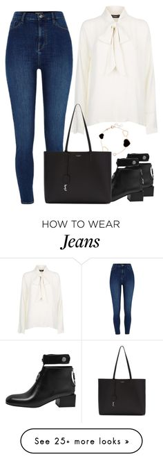"""""""Untitled #1624"""" by blossomfade on Polyvore featuring River Island, Chopard and Yves Saint Laurent"""
