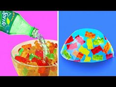 24 BRIGHT DESSERTS FOR A BAD DAY - YouTube No Cook Desserts, Delicious Desserts, Dessert Recipes, Molten Chocolate, Chocolate Icing, Real Looking Baby Dolls, Stupid Videos, Chocolate Fundido, Baked Pears