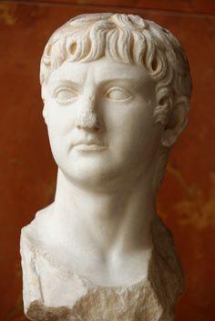 romegreeceart: A marble bust depicting Agrippina's husband, heir apparent… Roman Sculpture, Modern Sculpture, Roman Man, The Bible Movie, Rome Antique, Famous Sculptures, Marble Bust, Roman History, Museum
