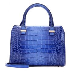 Victoria Beckham - Mini Victoria embossed leather shoulder bag - It might be…