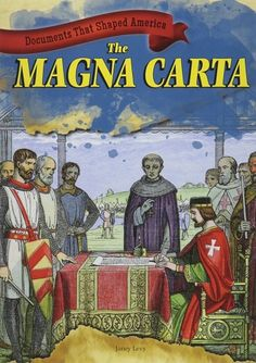 This book explains what was happening in England in 1215 when the Magna Carta was forced into the hands of King John and why the Magna Carta is still relevant to our nation and the world. (Grades: 3-8) Call number: JN147 .L49 2014