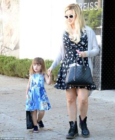 Mother daughter time:Girls Next Door alum Holly Madison was seen taking…