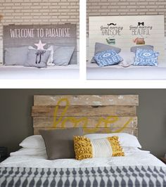 DIY Cabeceros low cost! | http://www.decoraddiction.com/diy-cabeceros-low-cost/