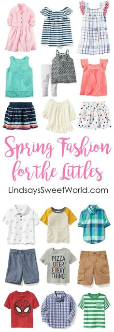 Spring fashion for the littles