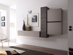Cube Wall Unit Composition 3 by LC Mobili, Italy Decor, Home, Modern Wall Units, Furniture, Wall Systems, Tv Wall Design, Wall Unit, Contemporary Furniture, Wall Design