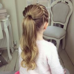 The Half Starburst Braid by SweetHearts Hair Design