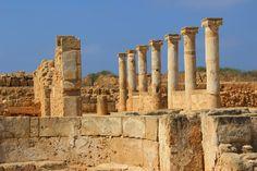 Archeologische opgravingen Paphos, Cyprus
