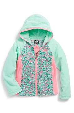 The North Face 'Glacier' Hoodie (Toddler Girls & Little Girls) | Nordstrom