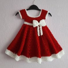 Free crochet patterns for baby items for the new year 2019 – Page 17 of 50 – Crochet … - Baby Dress Blog Crochet, Pull Crochet, Baby Girl Crochet, Crochet Baby Clothes, Crochet Baby Hats, Baby Blanket Crochet, Crochet For Kids, Crochet Baby Stuff, Crochet Baby Dresses