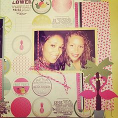 """#FBF #miami #embellishkits #cricut #niftyfifty #bestfriends #scrapbook #scrapbooking #scrapbooklayout"" Photo taken by @kindel_kreatz on Instagram, pinned via the InstaPin iOS App! http://www.instapinapp.com (07/03/2015)"