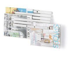 Illuzine Magazine Rack by Umbra®