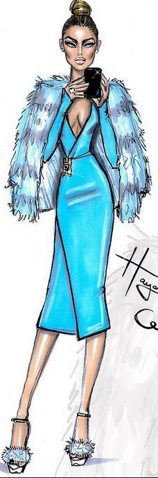 Hayden Williams Fashion Illustration