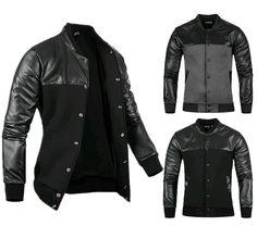 Harajuku 2015 Fashion Leather Men Jacket Coat Baseball Jacket Raiders Jersey Dresses Mens Designer Clothes Cool Jackets For Men