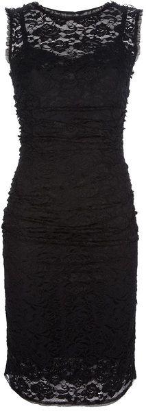 Dolce & Gabbana Lace Over-Lay Dress