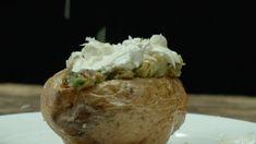 Ofenkartoffel mit Sour Creme