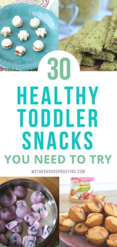 Learn the 30 healthy toddler snacks you need to try! These toddler snacks can be . Learn the 30 healthy toddler snacks you need to try! These toddler snacks can be combined to make healthy toddler meals as well! All these easy toddle. Healthy Toddler Snacks, Healthy Toddler Meals, Healthy Kids, Easy Meals For Toddlers, Healthy Toddler Breakfast, Homemade Toddler Snacks, Healthy Recipes For Toddlers, Dinner Ideas For Toddlers, Being Healthy