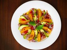 Spicy Tuna Ceviche with Avocado and Tangerine Segments More