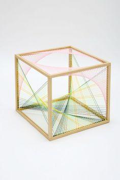 thread box sculpture - Google Search