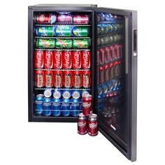 NewAir Beverage Cooler and Refrigerator, Mini Fridge with Glass Door, Perfect for Soda Beer or Wine, Capacity, Stainless Steel Home Theater Room Design, At Home Movie Theater, Home Theater Rooms, Cinema Room, Beverage Refrigerator, Mini Fridge, Beer Fridge, Hangout Room, Adult Party Themes