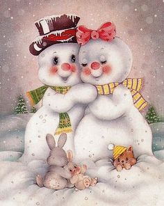 I want theses! They are so adorable! I want theses! They are so adorable! Christmas Clipart, Vintage Christmas Cards, Christmas Printables, Christmas Snowman, Winter Christmas, Christmas Crafts, Christmas Decorations, Christmas Time, Merry Christmas