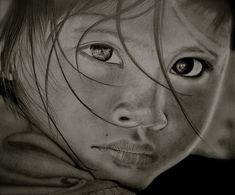 pencil drawing sad girl