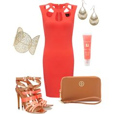 """Just Peachy"" by sweetangel-1 on Polyvore"