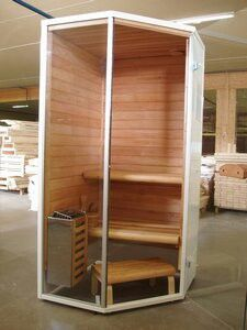 mini sauna gs minore haus pinterest sauna mini sauna und kleine sauna. Black Bedroom Furniture Sets. Home Design Ideas