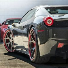 """Ferrari 458 on GFG Wheels  Follow @GFG_Wheels for more custom exotics on @GFG_Wheels  #GFGwheels #GiovannaWheels #DikoDesigns Visit www.wtwcorp.com for…"""