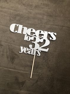 Cheers to 32 years!