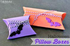 Easy Halloween DIY Pillow Box Project